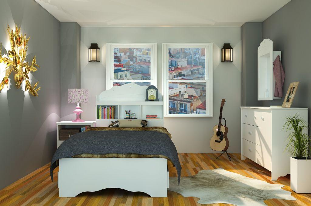 Imagen post habitación juvenil dormitorio
