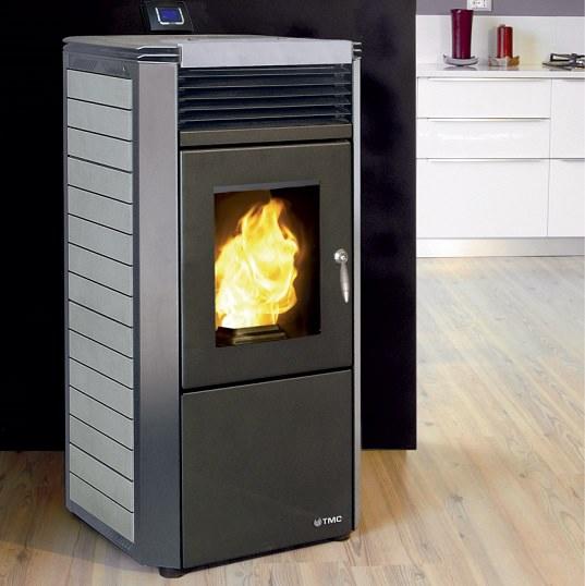 El sistema de calefacci n que permite ahorrar casas - Que es una estufa de pellet ...